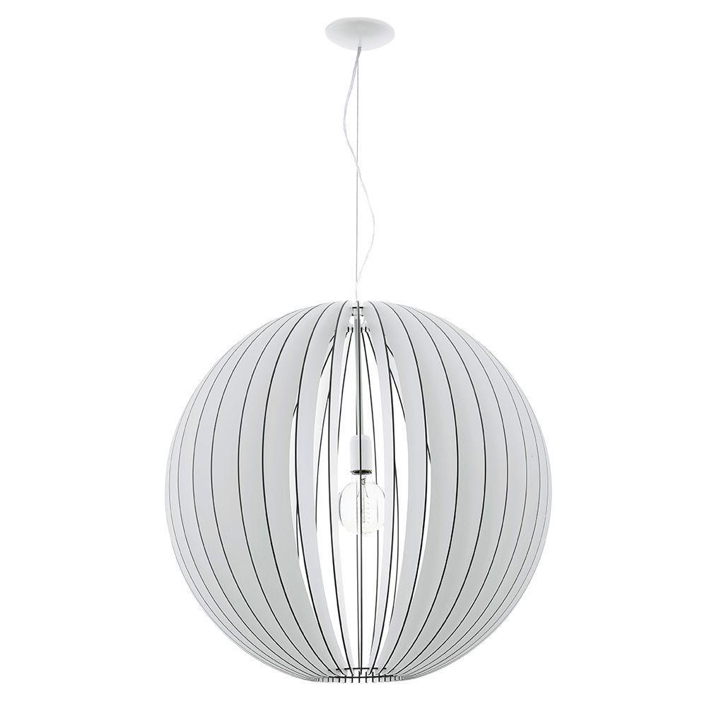 Cossano 1-Light White Pendant