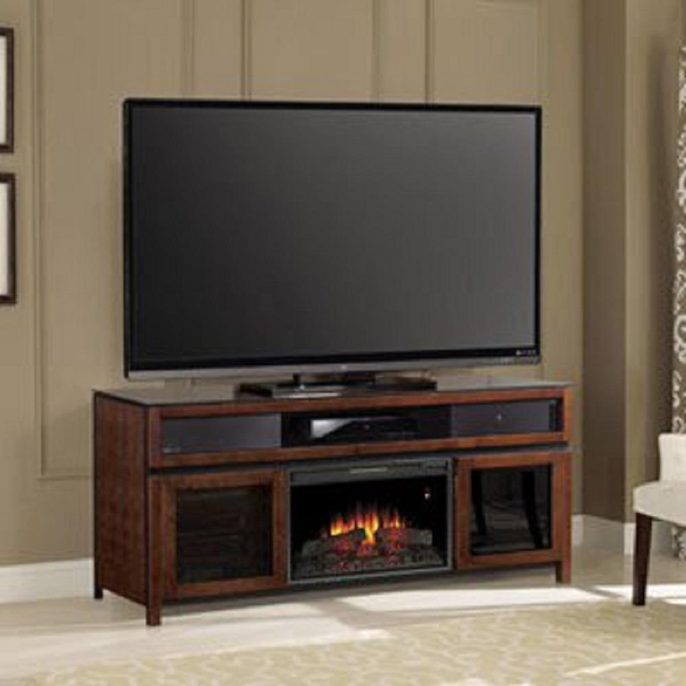 classic flame gramercy 26 in media mantel soundbar electric