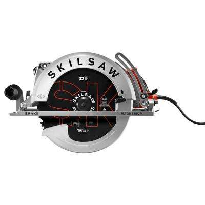 15 Amp Corded Electric 16-5/16 in. Magnesium Worm Drive Circular Saw with 32-Tooth SKILSAW Carbide Blade