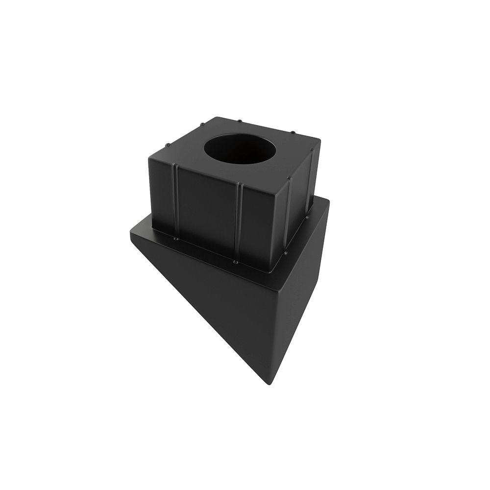 DeckoRail 3/4 in. Square Baluster Stair Connector