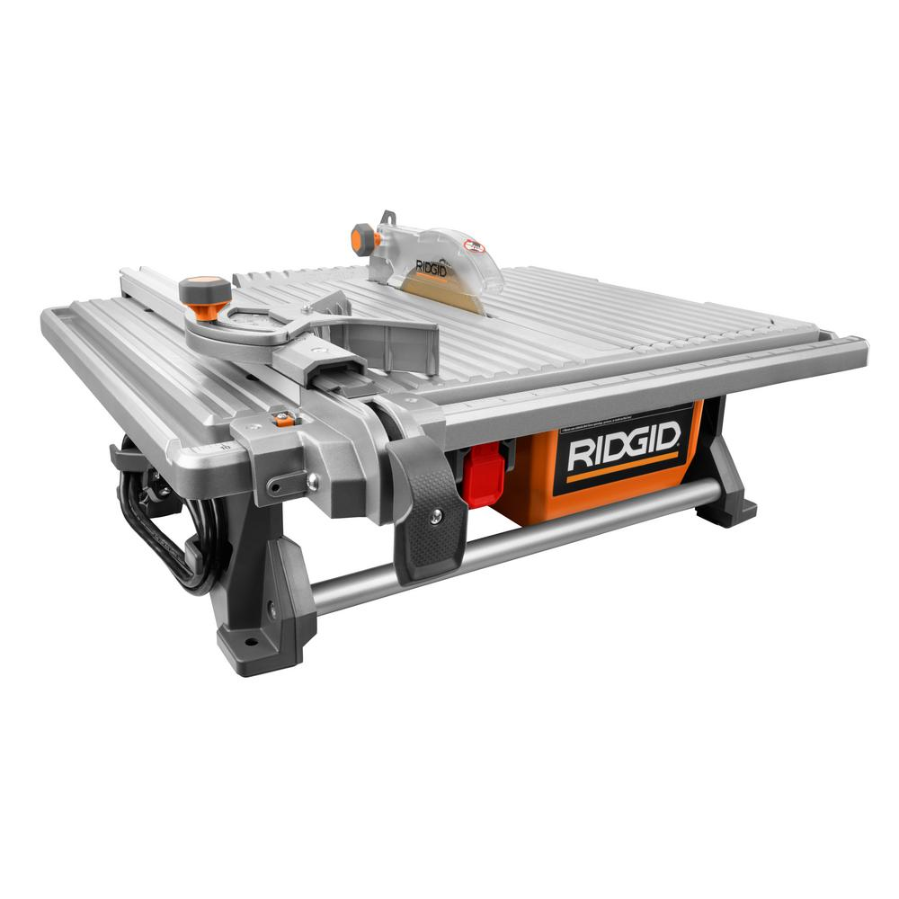 120-Volt 7 in. Table Top Wet Tile Saw