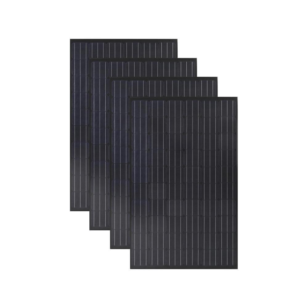 Grape Solar 300-Watt Monocrystalline Solar Panel (4-Pack)