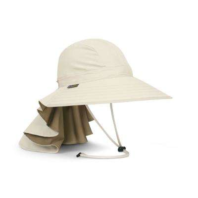 Women's One Size Fits All Cream Sundancer Hat with Neck Cape