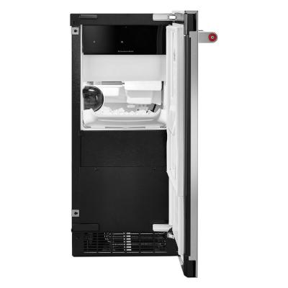 50 lb. Built-in Ice Maker in PrintShield Stainless Steel