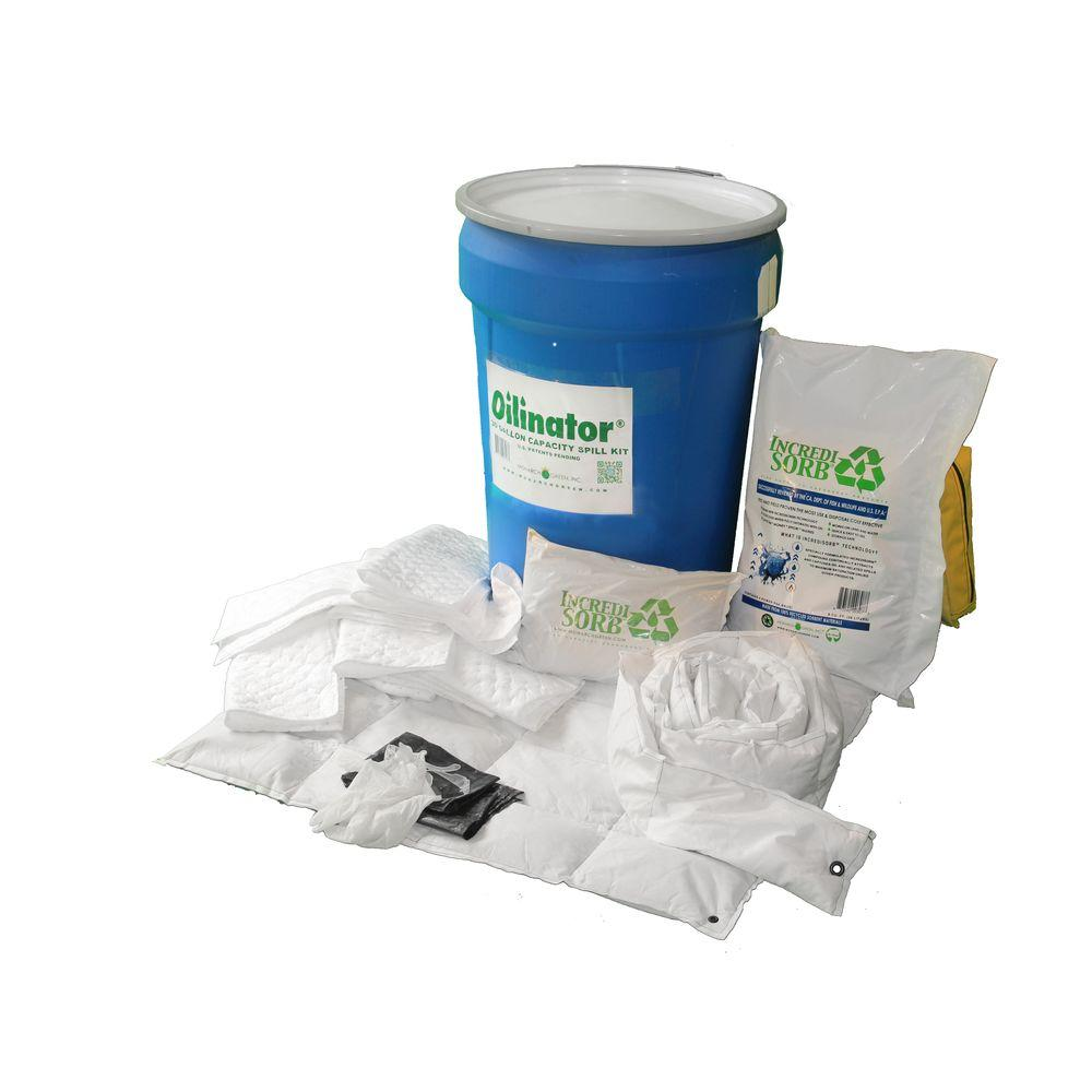 Oilinator 30 Gal. Heavy Duty Oil Absorbent Spill Kit