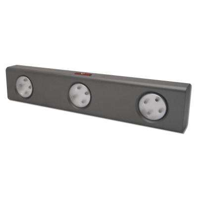 LED Grey Under Cabinet Night Light with Remote