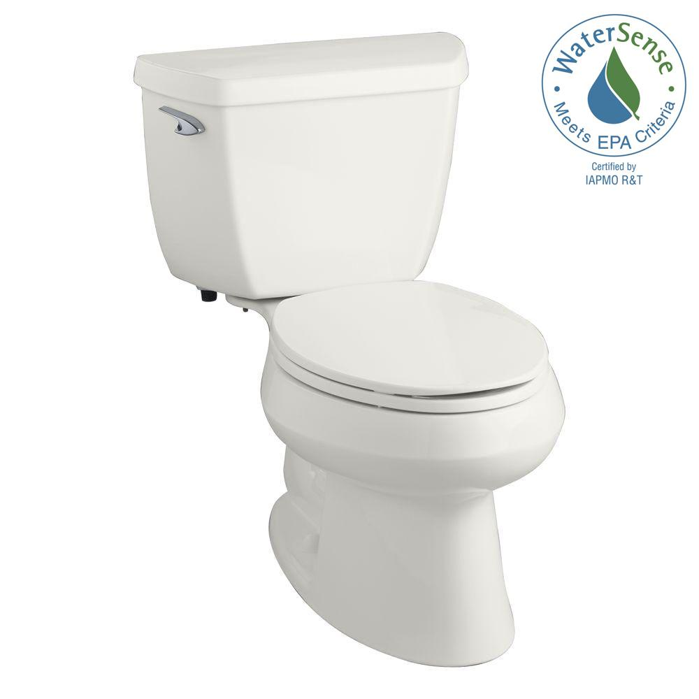 kohler wellworth classic 2 piece gpf single flush elongated toilet in white k 3575 0 the. Black Bedroom Furniture Sets. Home Design Ideas