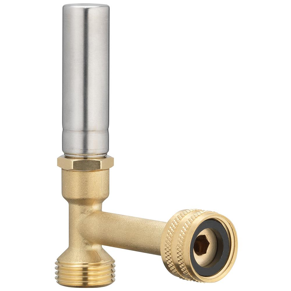 Homewerks Worldwide Homewerks Worldwide 3/4 in. FHT x 3/4 in. MHT Stainless Steel Water Hammer Arrestor