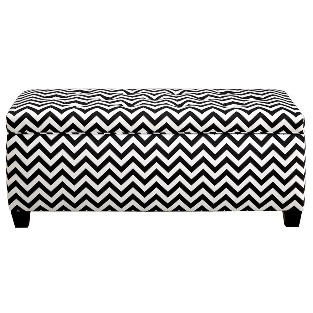 Fantastic Mjl Furniture Designs Sean Zz Black White 10 Button Tufted Inzonedesignstudio Interior Chair Design Inzonedesignstudiocom