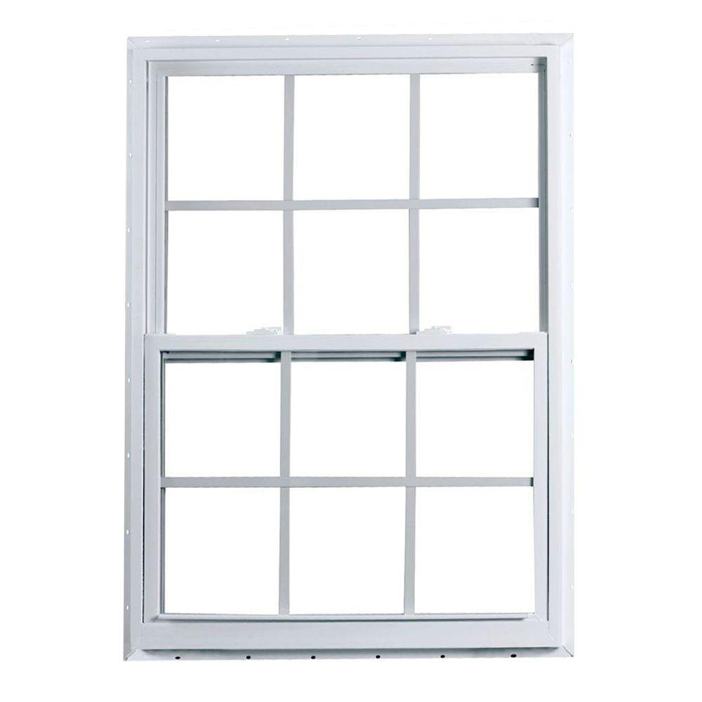 window blind sizes roller 2300 series single hung fin vinyl window american craftsman 36 in 60