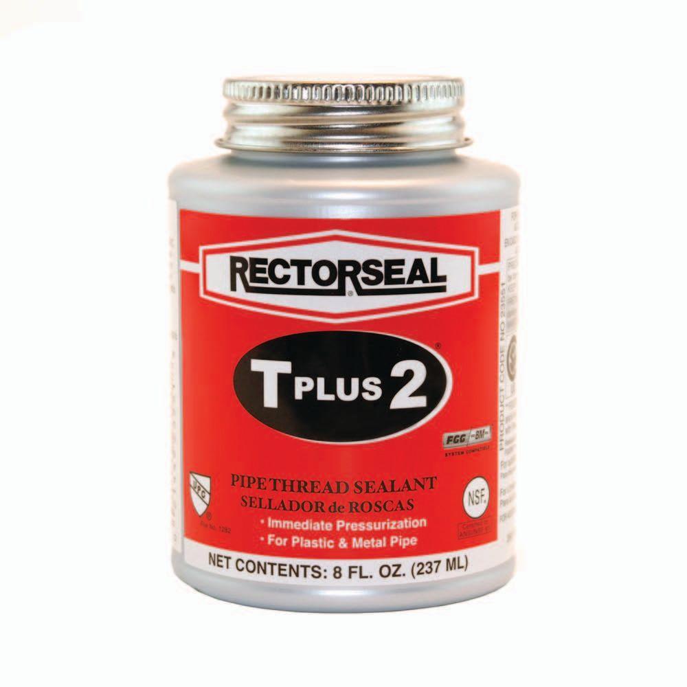 T Plus 2 8 oz. Teflon Thread Sealant