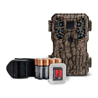 PX18 Camo 8.0 MP Scouting Camera and Video Recorder with Batteries and SD Card