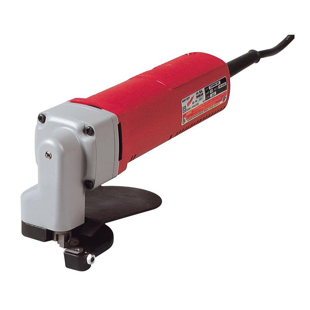 shear tool. milwaukee 4 amp 16-gauge shear tool