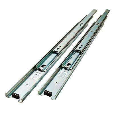 22 in. Full Extension Ball Bearing Side Mount Drawer Slide Set