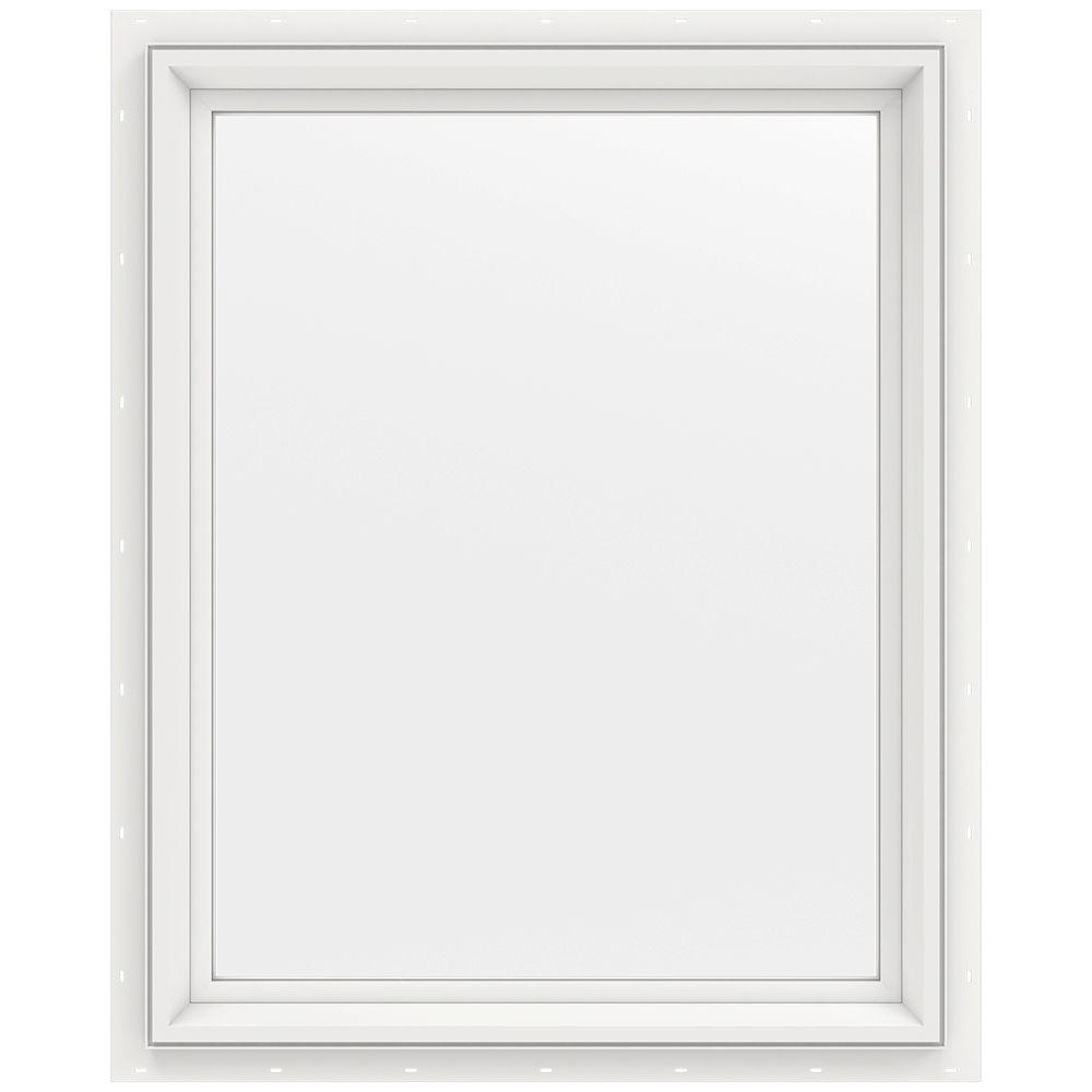 23.5 in. x 29.5 in. V-2500 Series Fixed Picture Vinyl Window
