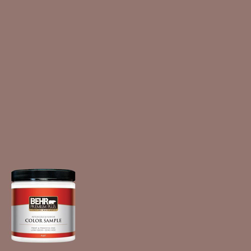 8 oz. #710B-5 Milk Chocolate Interior/Exterior Paint Sample