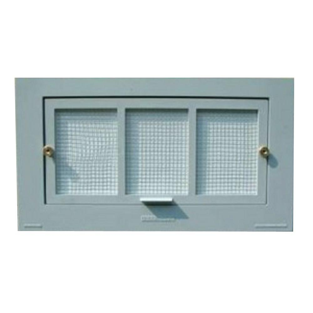 Battic Door Energy Conservation Products 16 in. x 8 in. Energy Efficient Foundation Vent  sc 1 st  The Home Depot & Battic Door Energy Conservation Products 16 in. x 8 in. Energy ...
