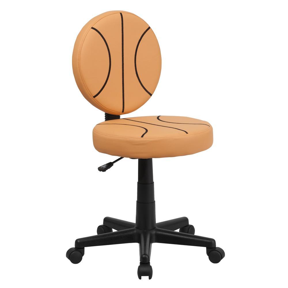 Basketball Orange Task Chair