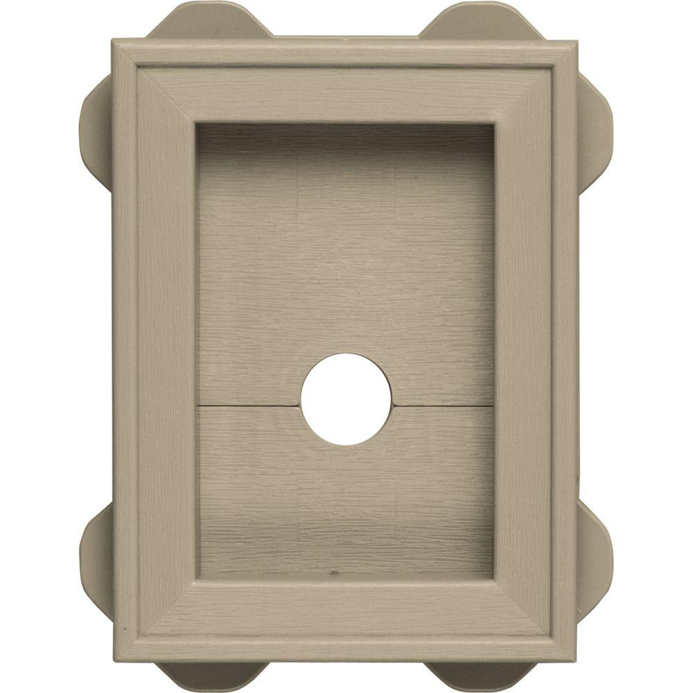 builders edge mounting block instructions