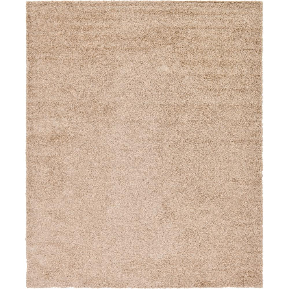 Unique Loom Solid Taupe 12 X 15 Rug