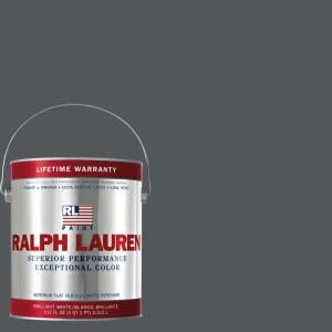 1-gal. Nobel Grey Flat Interior Paint
