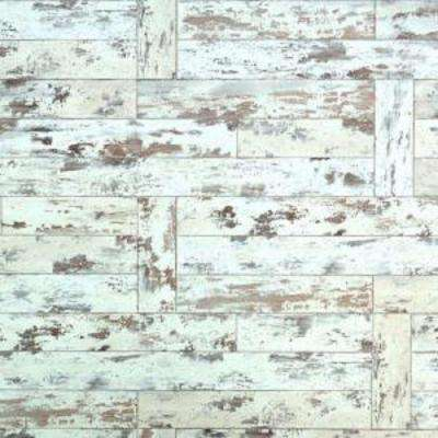 Maui Whitewashed Oak Laminate Flooring - 5 in. x 7 in. Take Home Sample