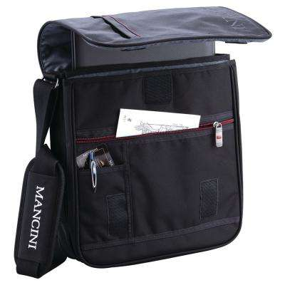 13 in. Black Mini-Laptop and Tablet Crossover Bag