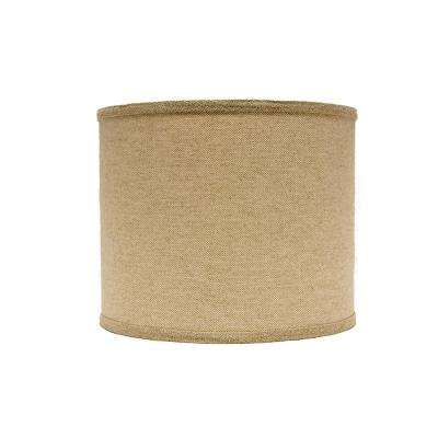 12 in. x 11 in. Neutral Brown Lamp Shade