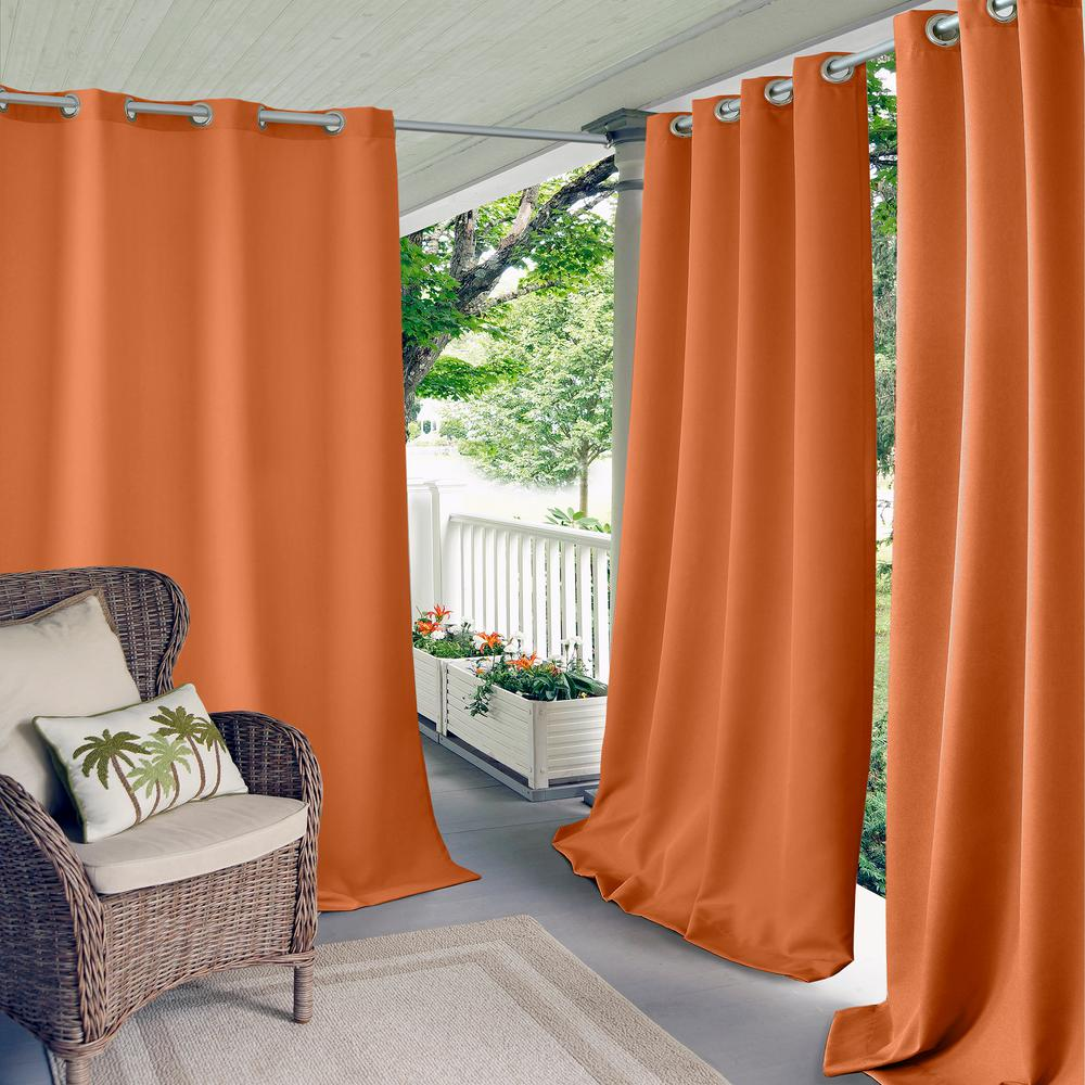Elrene Connor Solid Indoor/Outdoor Window Curtain