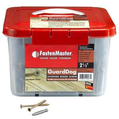 Guard Dog 2-1/2 in. Wood Screw (1750 per Pack)