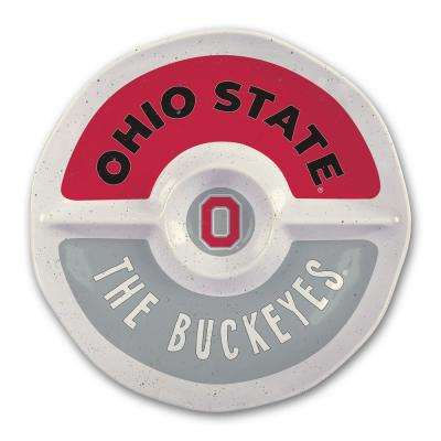 Ohio State 15 in. Chip and Dip Server