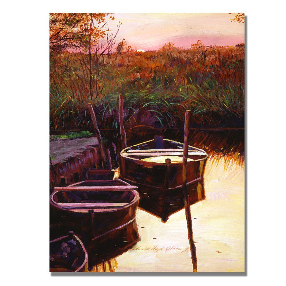 24 in. x 18 in. Moment at Sunrise Canvas Art