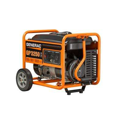 3,250-Watt Gasoline Powered Portable Generator