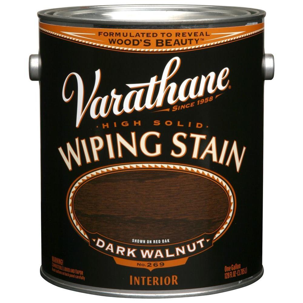 Dark Walnut Flat Wiping Stain No 269