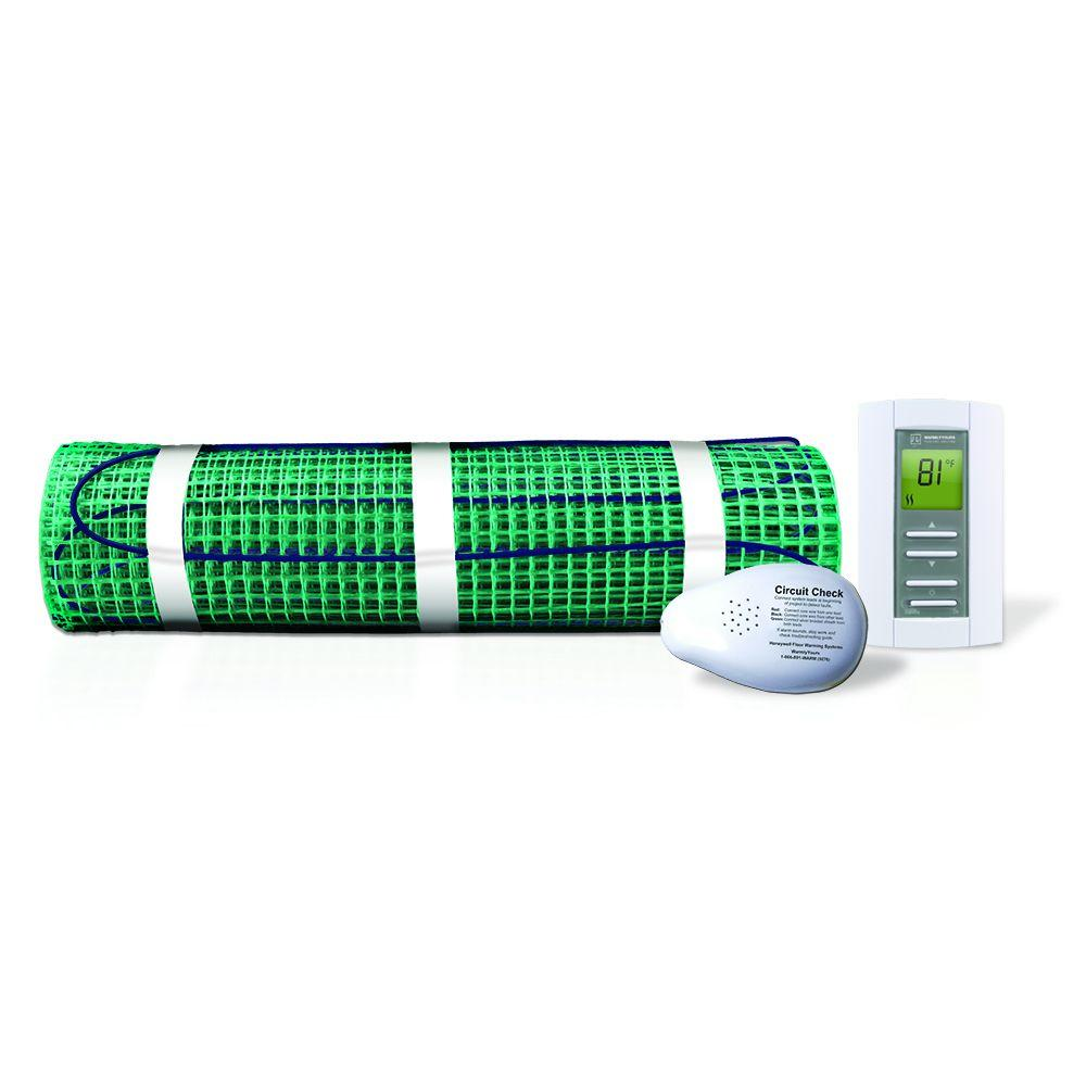 WarmlyYours 30 ft. x 18 in. 120-Volt TempZone Floor Warming Kit (Covers 45 sq. ft.)