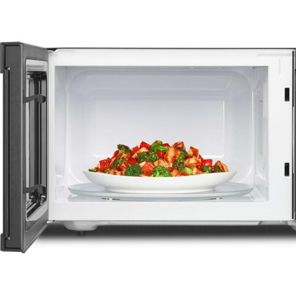So Sku 1002638942 Whirlpool 2 Cu Ft Countertop Microwave In Fingerprint Resistant Stainless Steel