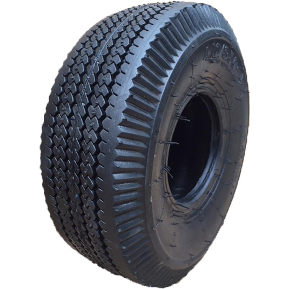 MOTOOS 2Pcs 4.10//3.50-6 P605 2PR Turf Bias Tires 4.10//3.50-6 Garden Lawn Mower Bias Tubeless Tires