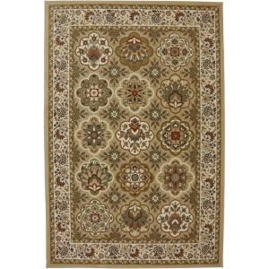Click here to buy American Rug Craftsmen Copperhill Pale Wheat 3 ft. 6 inch x 5 ft. 6 inch Accent Rug by American Rug Craftsmen.