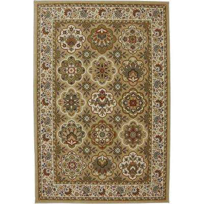Copperhill Pale Wheat 5 ft. 3 in. x 7 ft. 10 in. Area Rug