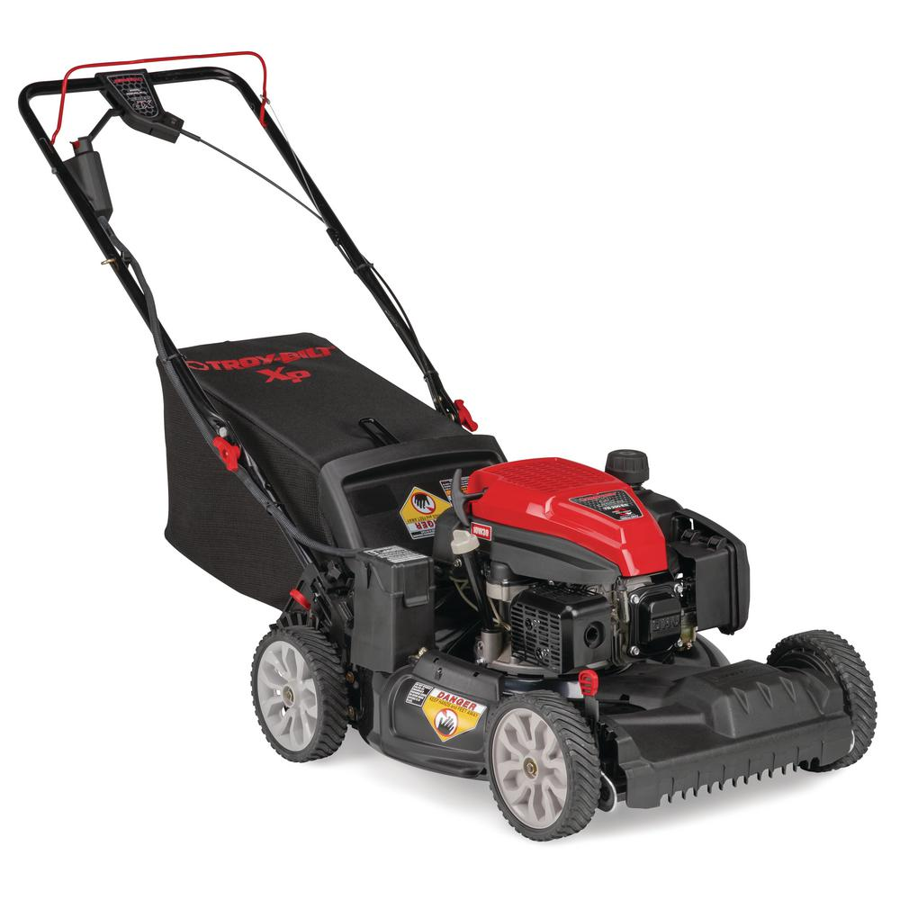 Troy-Bilt XP 21 in  159 cc Gas Walk Behind Self Propelled Lawn Mower with  Electric Start Option, 3-in-1 TriAction Cutting System