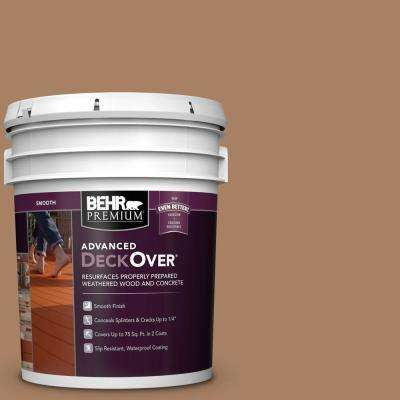 5 gal. #SC-158 Golden Beige Smooth Solid Color Exterior Wood and Concrete Coating