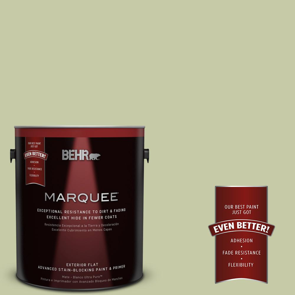 BEHR MARQUEE 1-gal. #M350-3 Sap Green Flat Exterior Paint