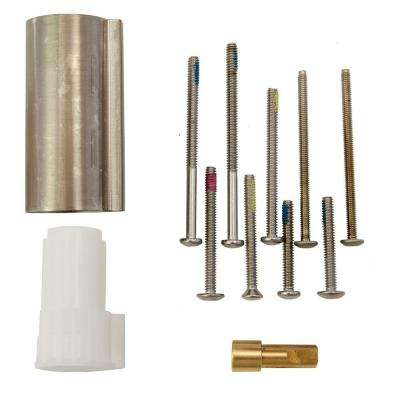 Posi-Temp 1 in. Handle Tub/Shower Extension Kit in Brushed Nickel