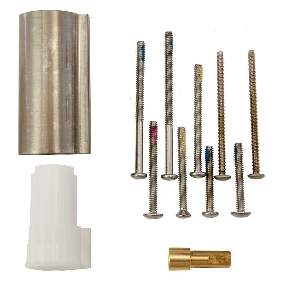 Posi-Temp 1 in. Handle Tub/Shower Extension Kit in Brushed Nickel