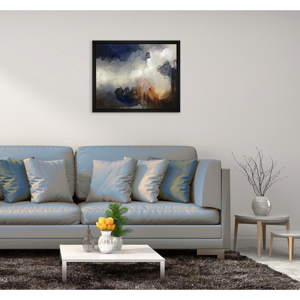 16.75 in. x 16.75 in.''Free Flight II'' Framed Canvas Wall Art
