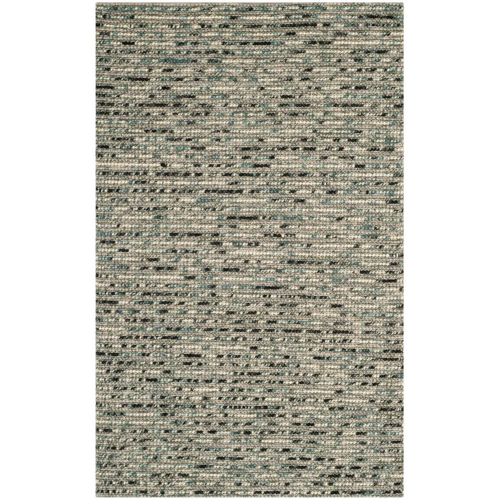 Bohemian Grey/Multi 6 ft. x 9 ft. Area Rug