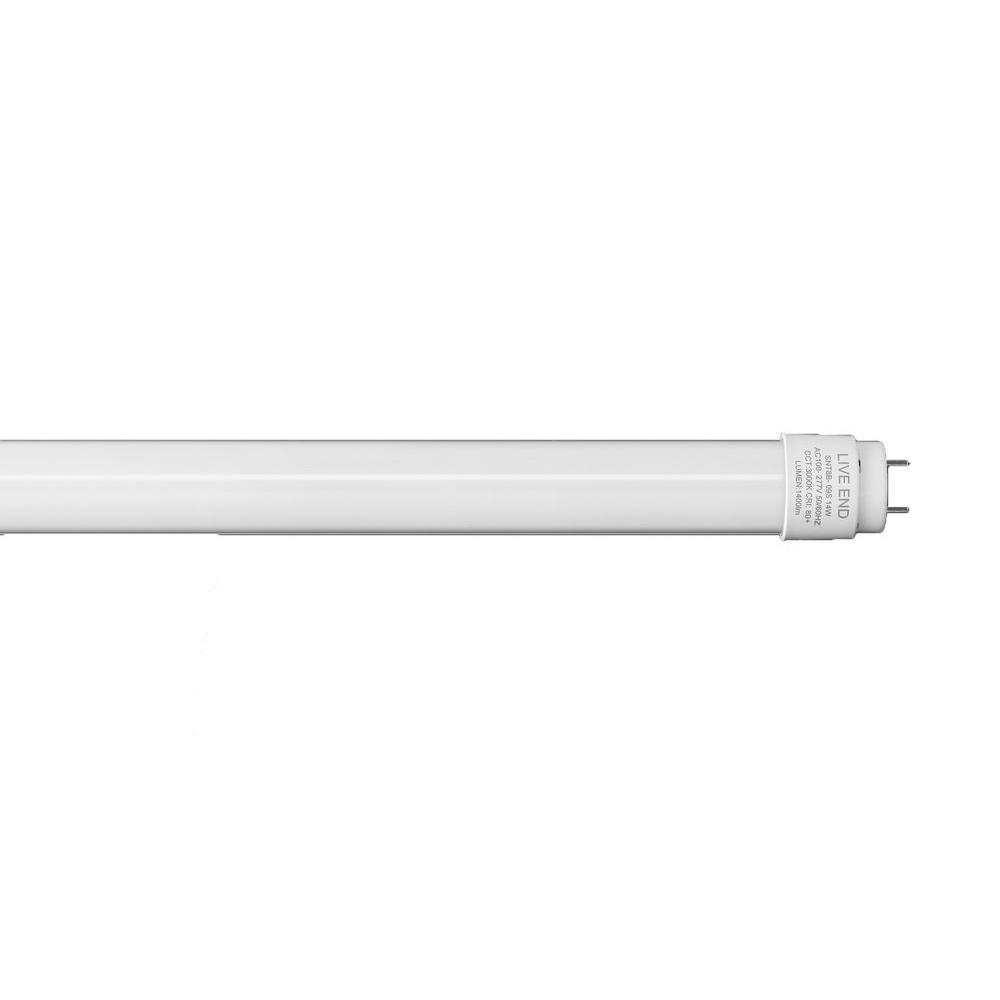 3NLED 6 ft. T10 32-Watt Daylight G13 Frosted Lens Linear LED Tube Light Bulb