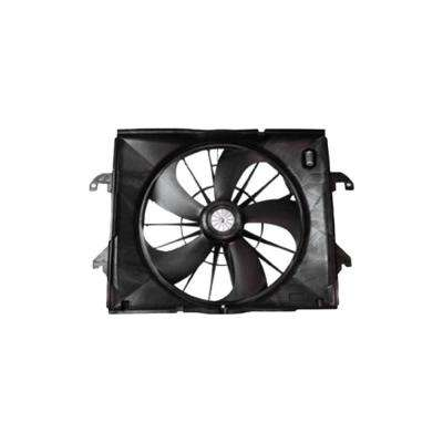 Dual Radiator and Condenser Fan Assembly - Front