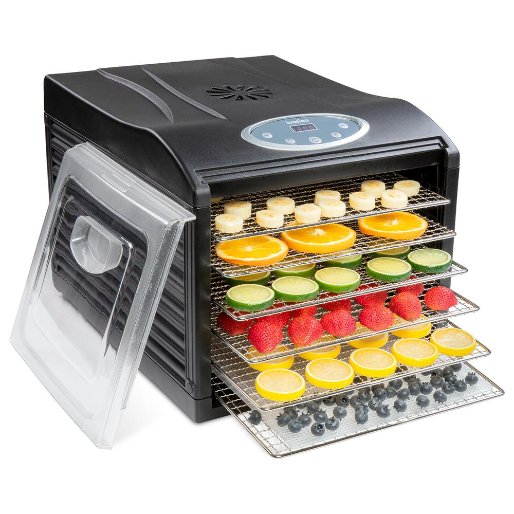 Excalibur 9-Tray Electric Food Dehydrator with Temperature Settings $189.99 **Today Only**