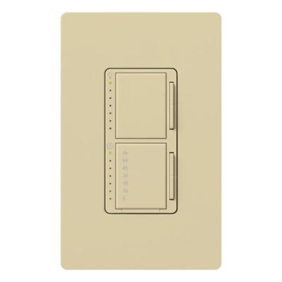 Maestro 300-Watt Single-Pole Digital Dimmer and Timer Switch - Ivory